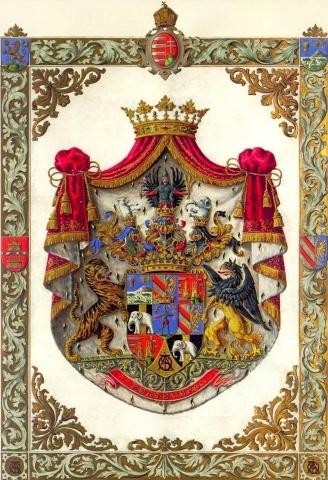 A Tisza-család grófi címere, Forrás:Erdős Pál Tisza-kutató http://www.macse.hu/society/csaladok.php?id=2 ;Geszt régen és most