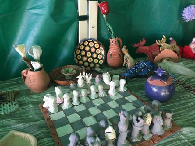 Varázskastély 2017. Kézműves alkotások- sakk-készlet