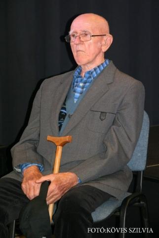 Bajzi Ferenc nyugalmazott bányász