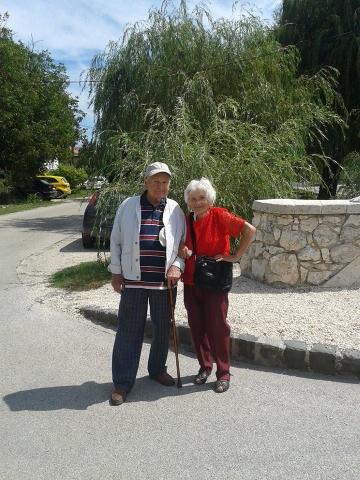 Hajdú Klári néni és Mandl Péter