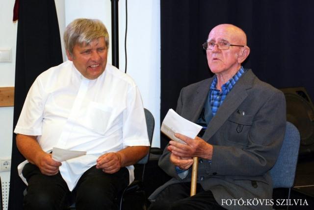 Kemenes Gábor atya és Bajzi Ferenc