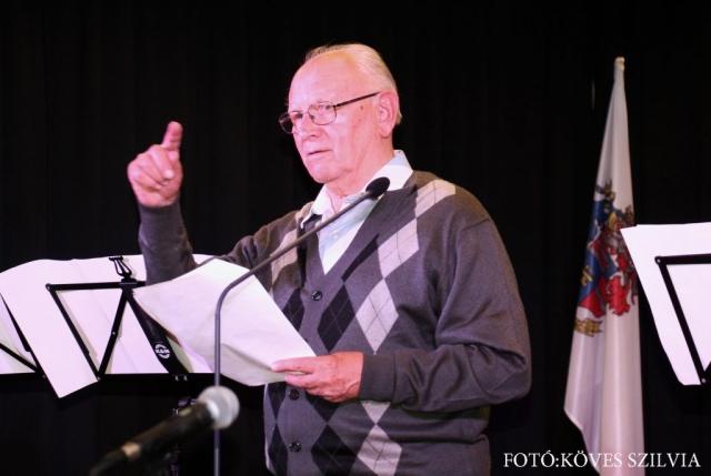 Németh József gyémántdiplomás földmérőmérnök beszéde