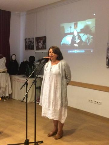 A kiállítás kurátora G. Furulyás Katalin