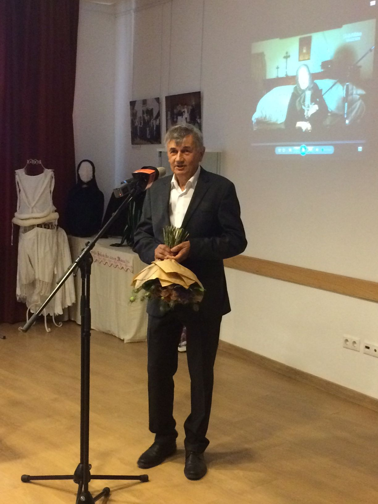 Dr. Klein Ferenc a Német Nemzetiségi Önkormányzat elnöke a