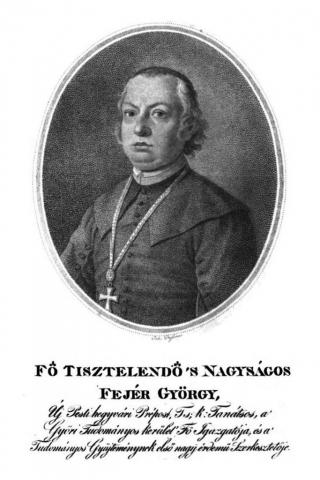 Fejér György (teológus, prépost-kanonok, az Egyetemi Könyvtár igazgatója) 1766-1851.  élt. Nagykovácsi plébánosa 1796- 1808.