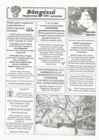 18 éve az első adventi hétvégék beharangozója 1999.