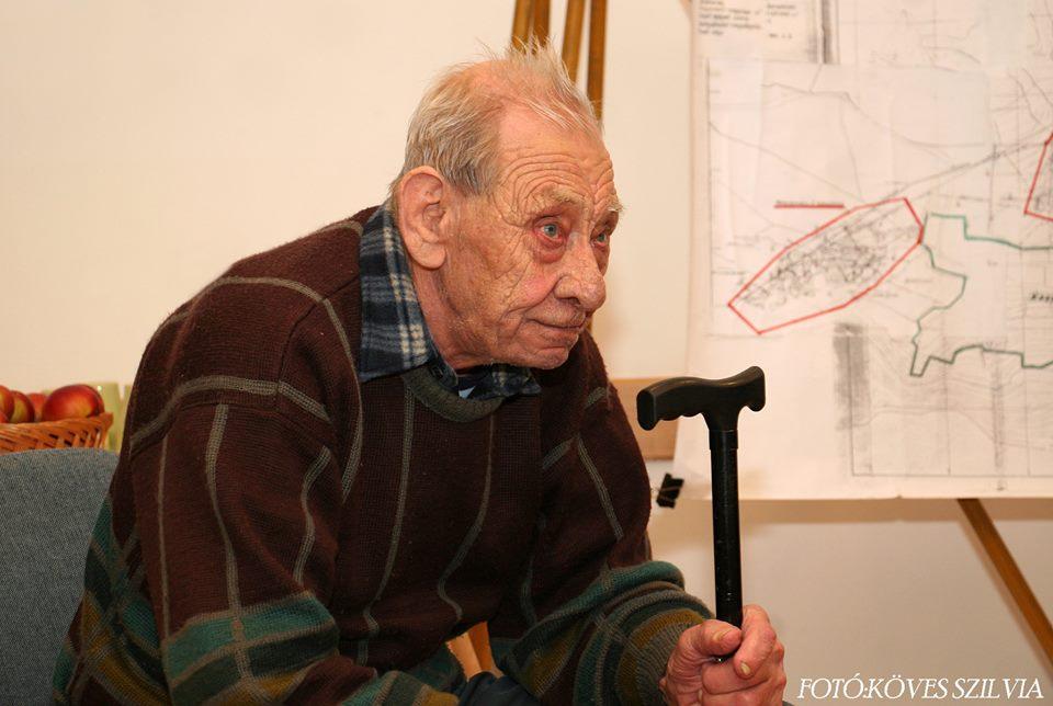 Borbála napi ünnepség Probszt András, az idős bányász, 1969. december 31-én a bánya bezárásának napján még szolgálatba ment