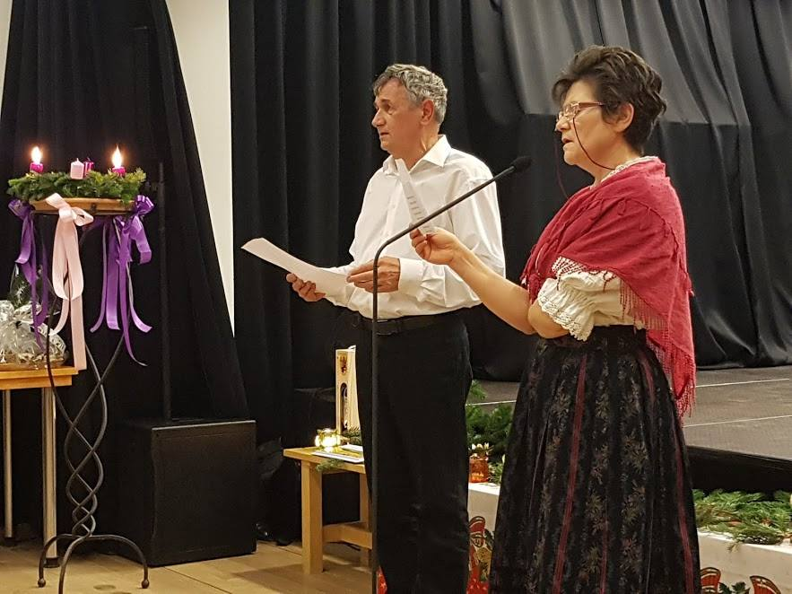 Karácsonyi énekek Szeltnerné Winhardt Ildikó és Dr. Klein Ferenc