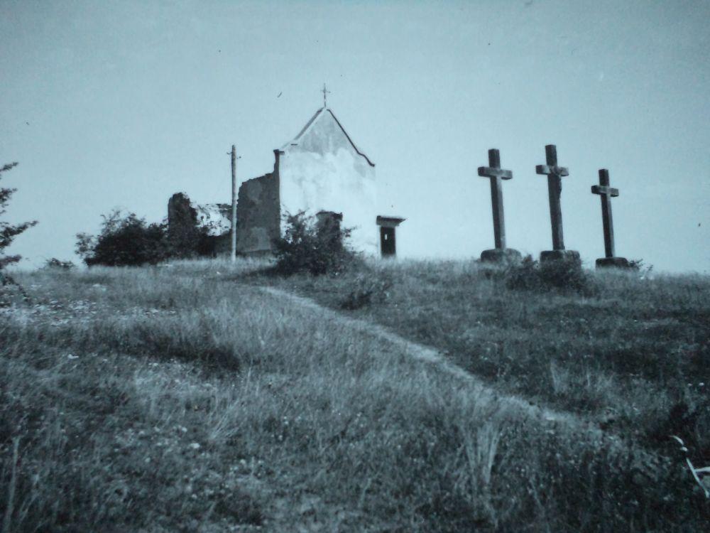 A Kálvária Réthy István felvétele az 1950-60-as évekből
