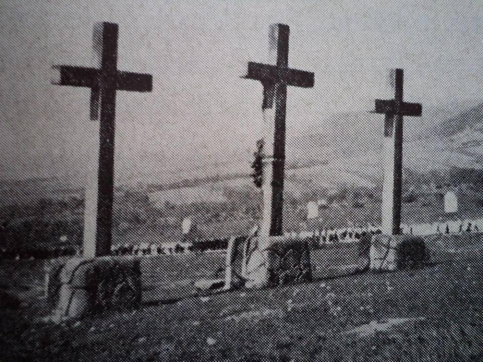 A Kálvária az 1940-es években, Greszl Ferenc könyvéből