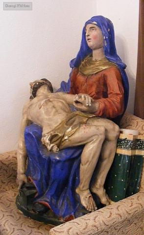 A Piéta Dorogi Ferenc felvétele Réthy Mária cikkéből