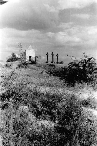 Kálvária 1959. Kerekes Béla fotója