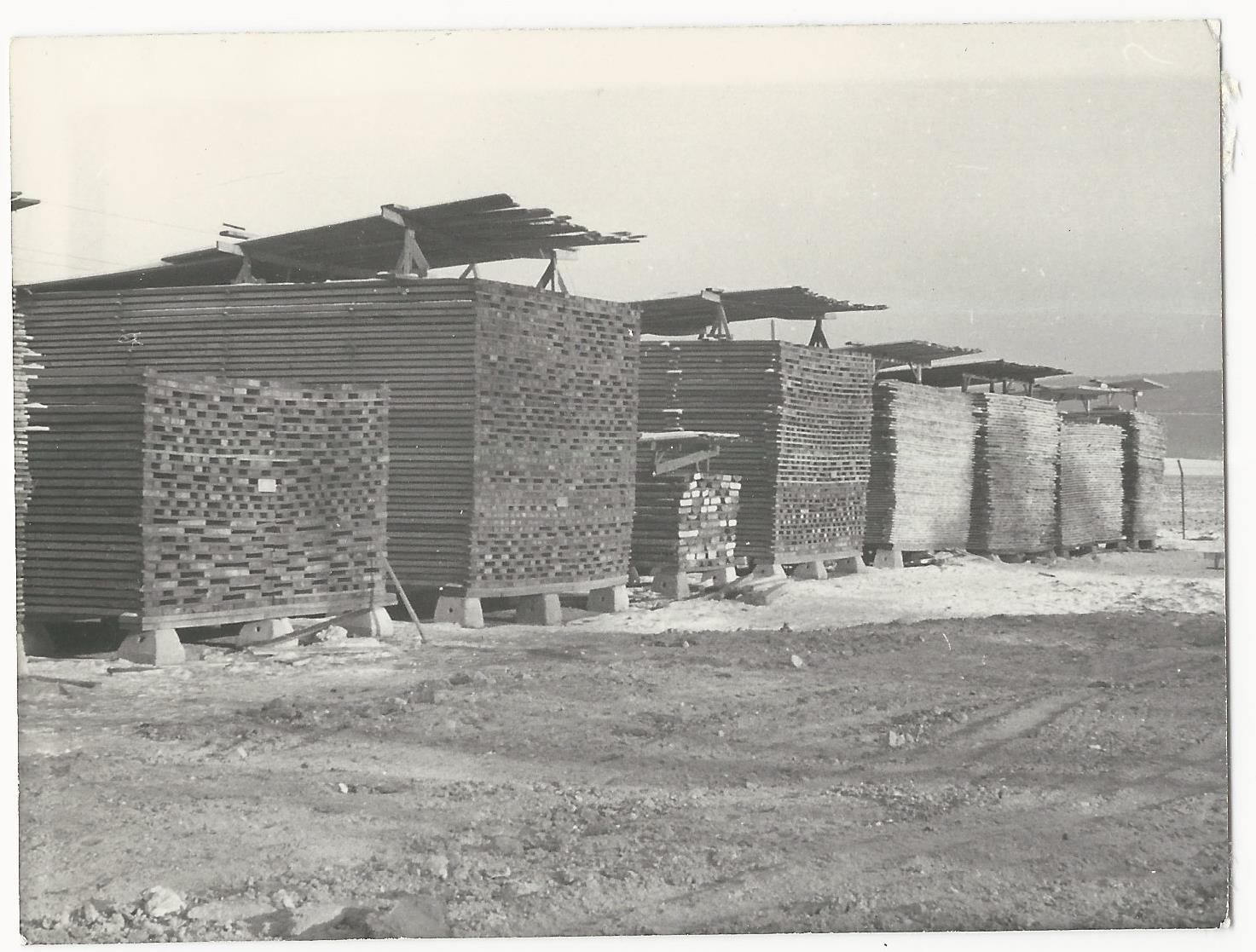 A ládagyár nyersanyagraktára Községi Krónika 1968.