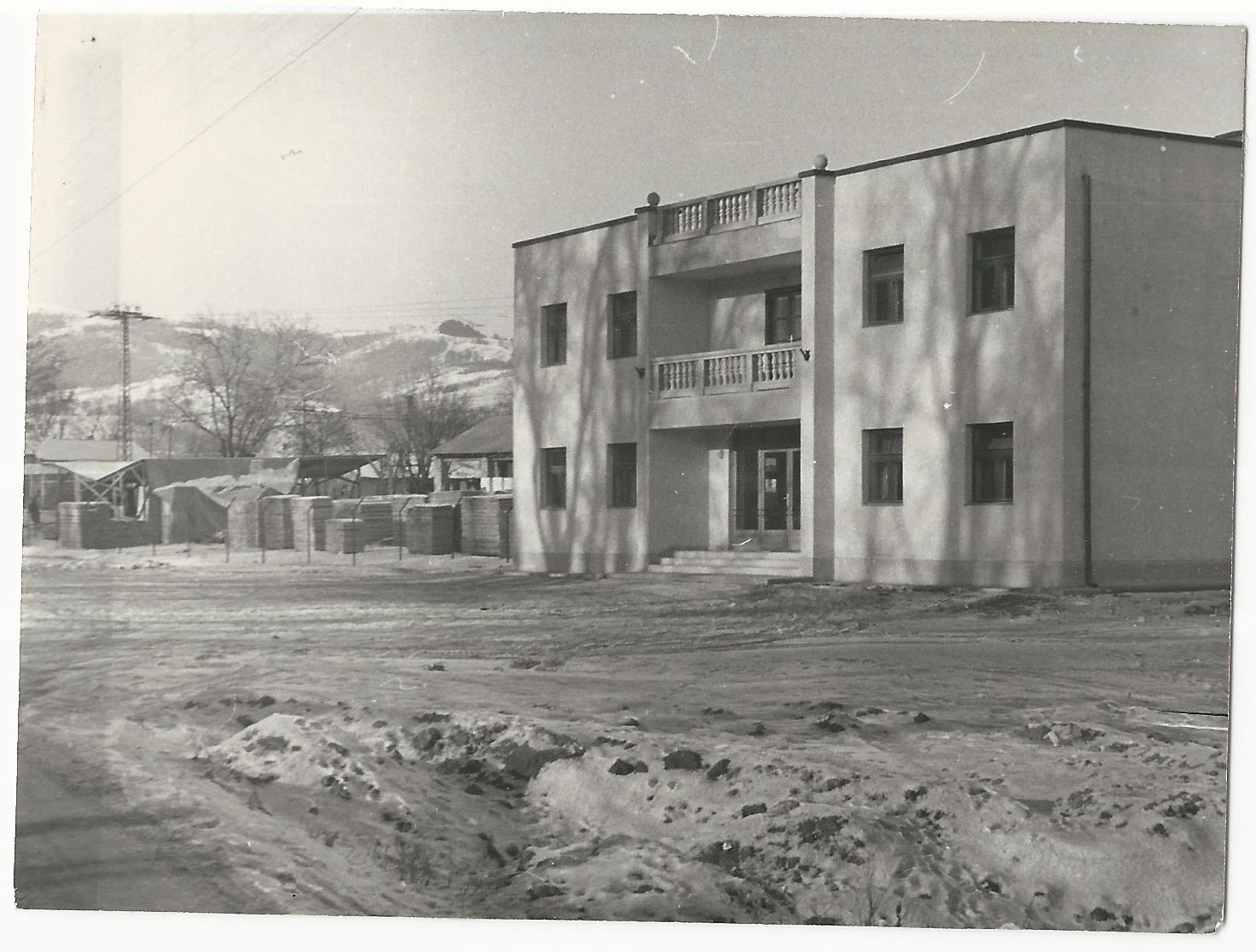 A téesz új irodaháza Községi Krónika 1968.