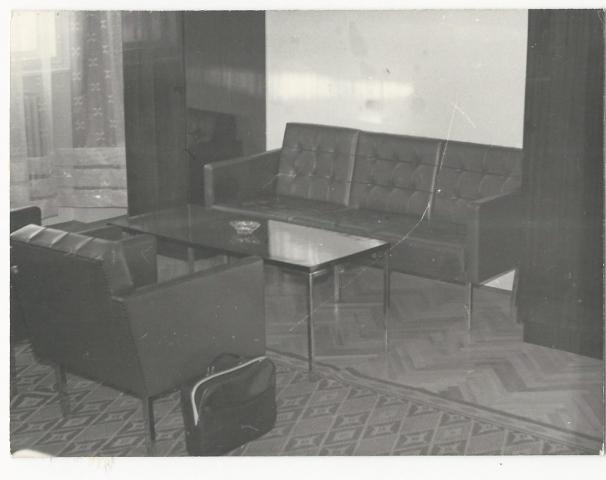 Az elnöki iroda tárgyalója Községi Krónika 1968.