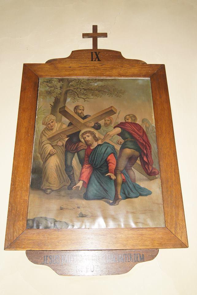 A IX. stáció Jézus harmadszor esik el 2018. június 30.
