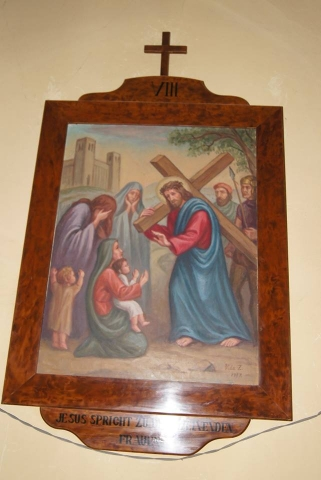 A VIII. stáció Jézus szól a síró asszonyokhoz 2018. június 30.