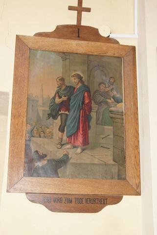 Az I. stáció Jézust Pilátus halálra ítéli 2018. június 30.