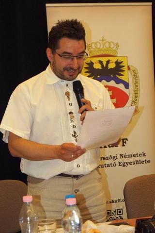 Dr. Pencz Kornél elnöki köszöntője Huber Éva fotója