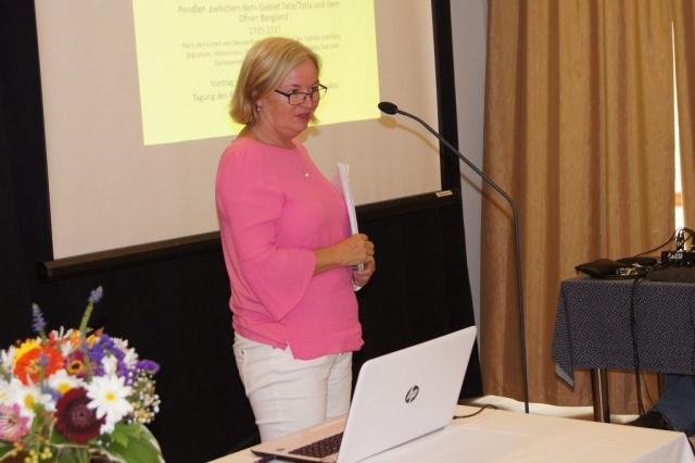 Franziska Milbich előadása