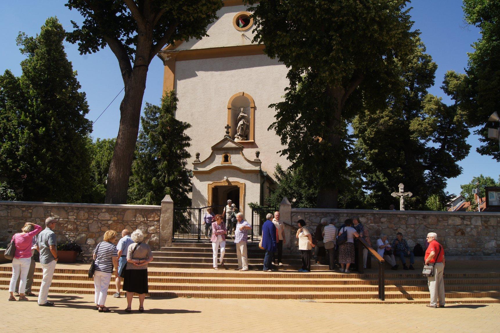 Turista szemmel Nagykovácsi temploma 2018. június 30.