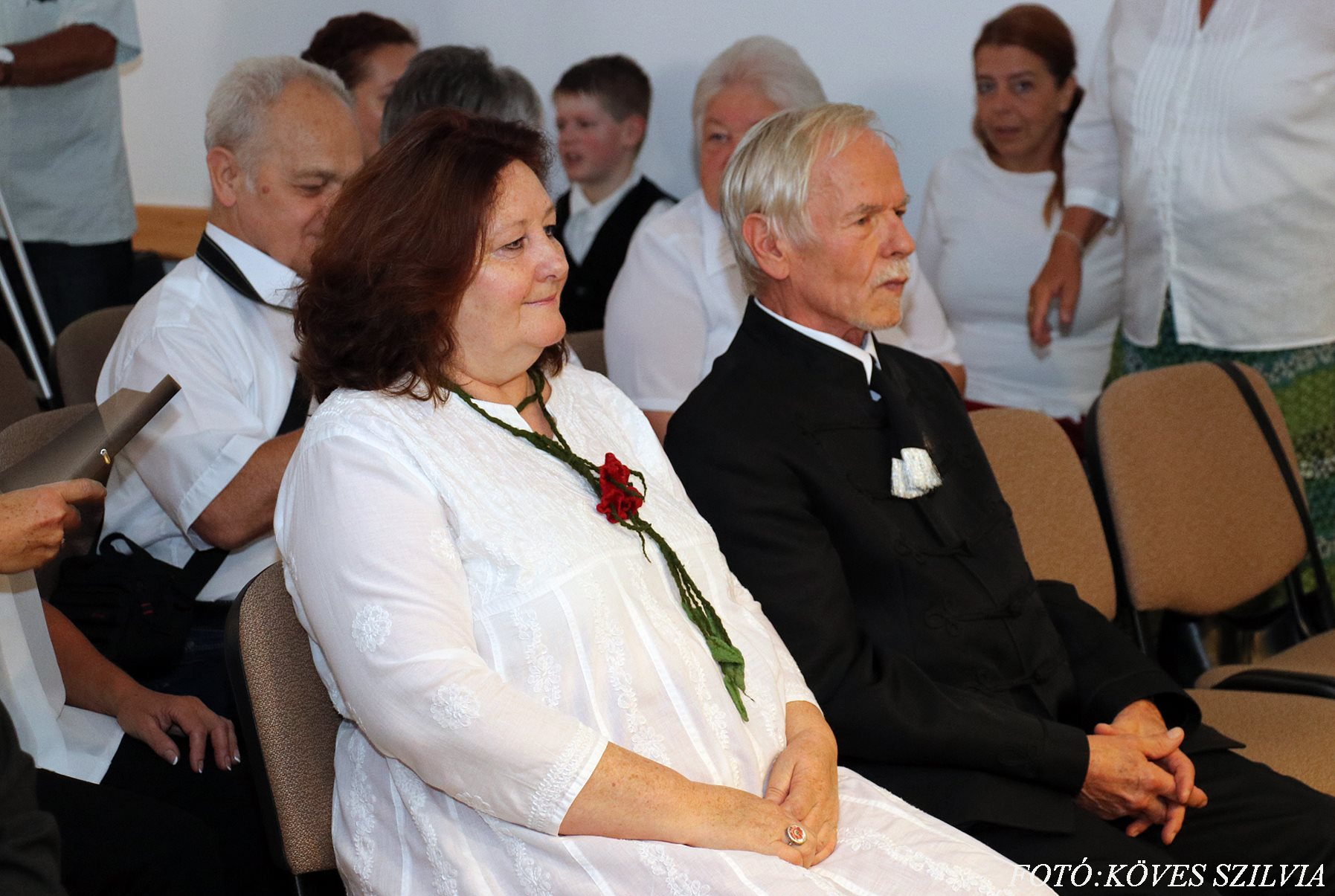 A Nagykovácsiért Emlékérem díj 2018-as díjazottai Kőrösi Éva és Janits Béla