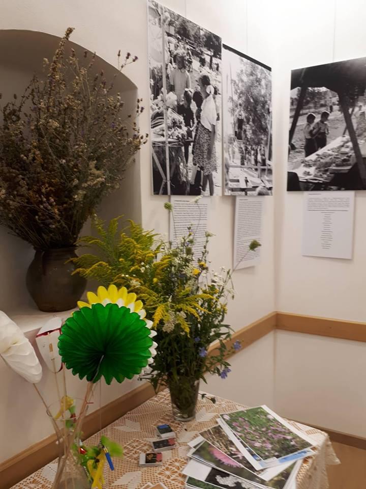 A Virágáldást bemutató sarok
