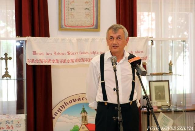 Dr. Klein Ferenc a Német Nemzetiségi Önkormányzat elnöke