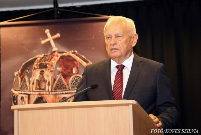 Harrach Péter a KDNP parlamenti frakciójának elnöke 2018. augusztus 20.