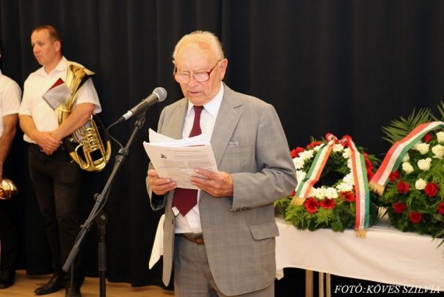 Németh József beszéde 2018.
